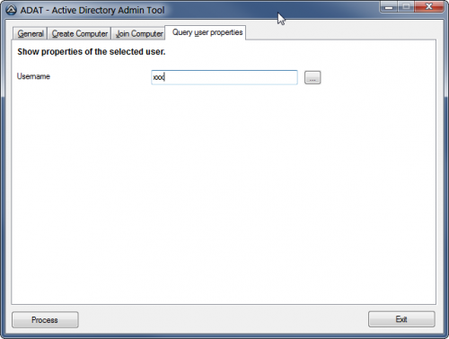ADAT - Active Directory Administration Tool