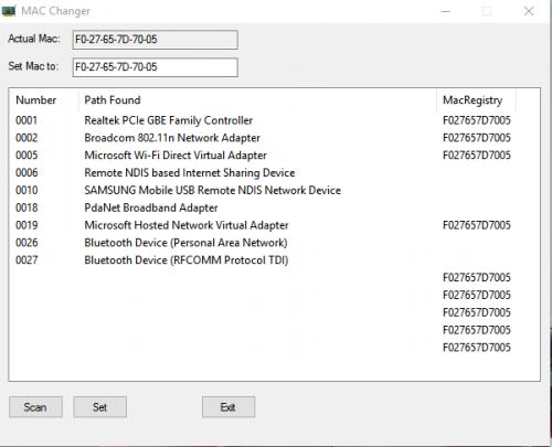 Mac Address Changer - Windows - AutoIt Forums