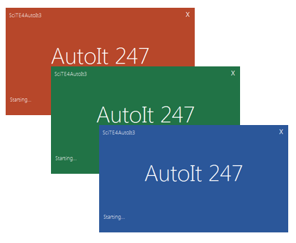 Splash Screen GUI - MS Office Style