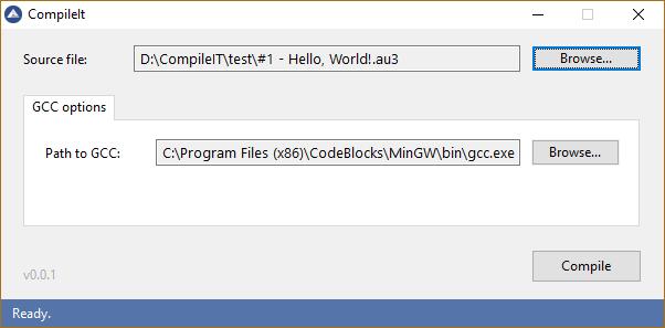 CompileIt - an experimental AutoIt-to-machine code compiler