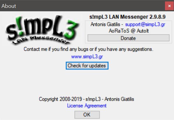 s!mpL3 LAN Messenger - AutoIt - AutoIt Forums