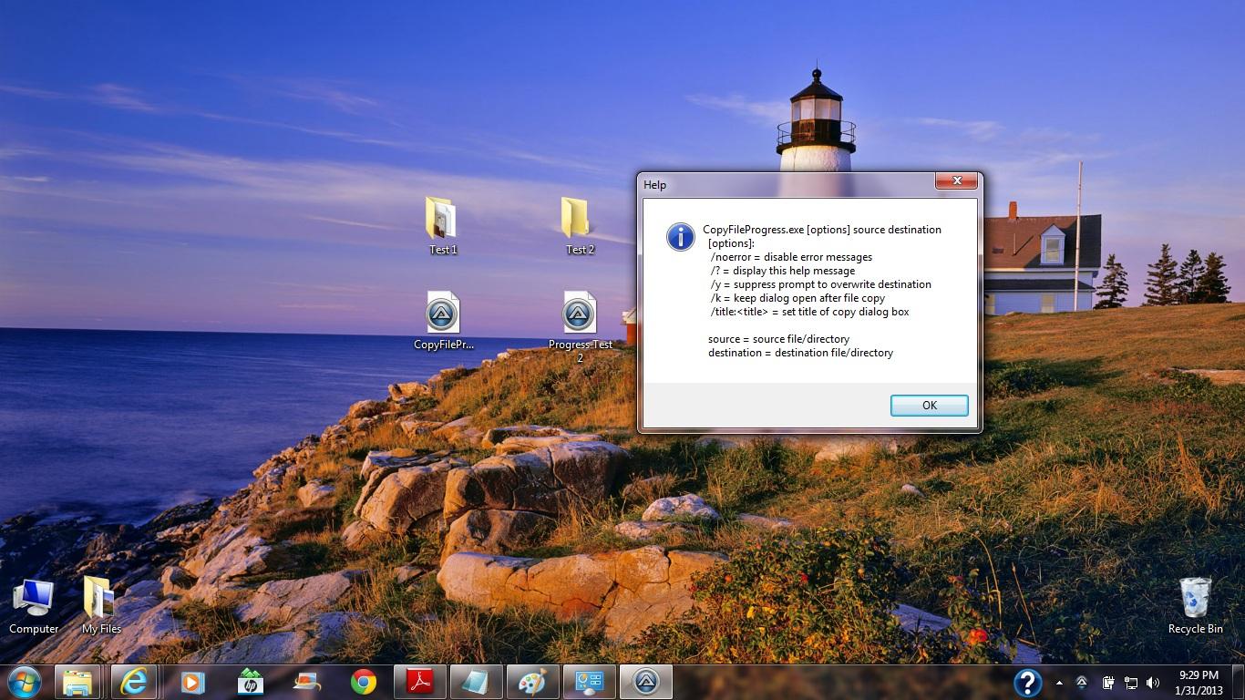 File copy progress bar - AutoIt General Help and Support - AutoIt Forums