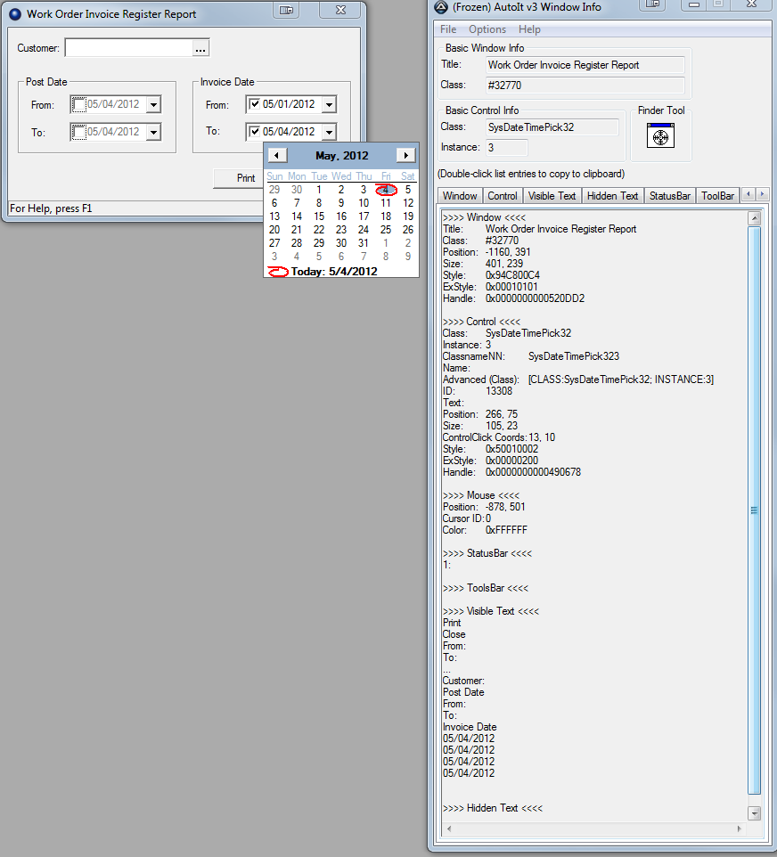 Resolved - Setting a date range paramater - AutoIt General Help and