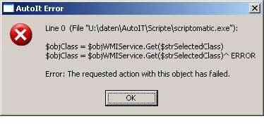 WMI Query  How to get data from object? - AutoIt General Help and