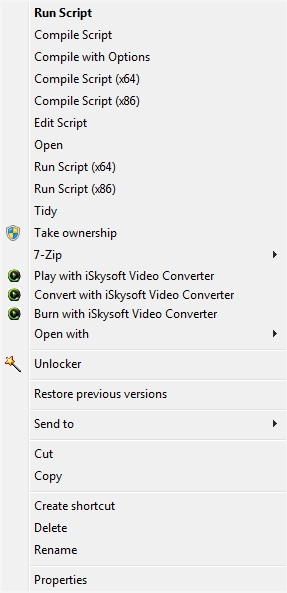how to run a file in autoit