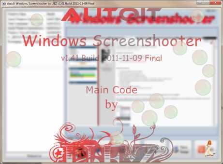 AutoIt Windows Screenshooter screenshot