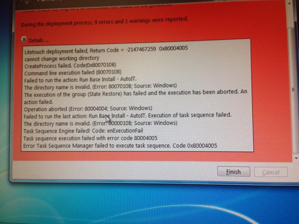 MDT AutoIT Script Error - AutoIt General Help and Support - AutoIt