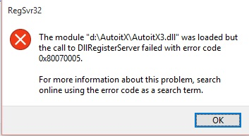 Using AutoItX from C# /  Net - AutoItX Help and Support - AutoIt Forums