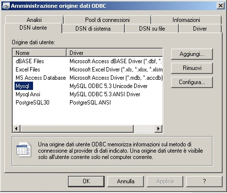 odbc mysql 5 3 connection problem - AutoIt General Help and