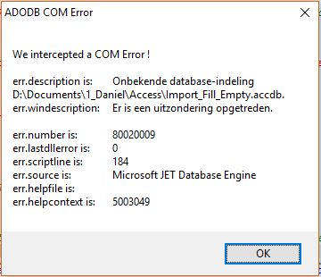 SOLVED] Connect to MS Access - AutoIt General Help and