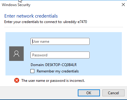 Q&A: how to save credentials of network shares in windows | ITNinja