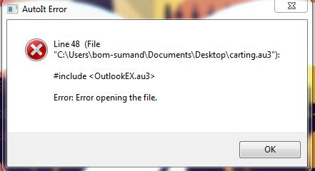 OutlookEX Error.PNG