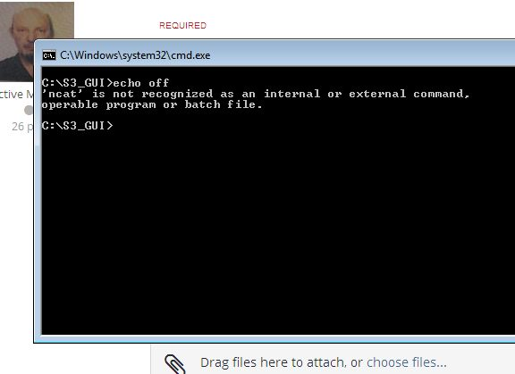 Running Batch File