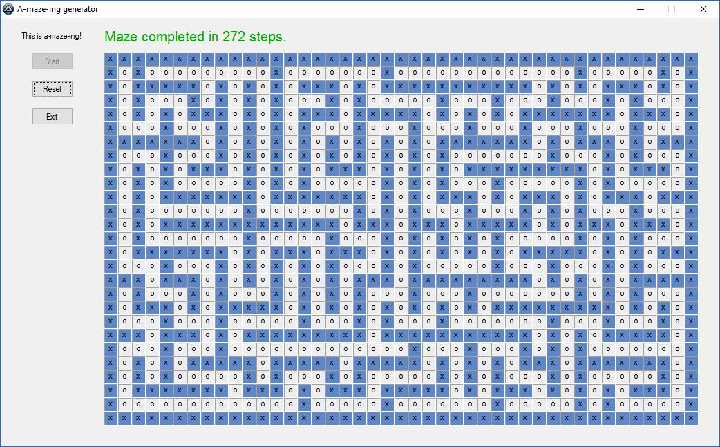 A-maze-ing generator - AutoIt Example Scripts - AutoIt Forums