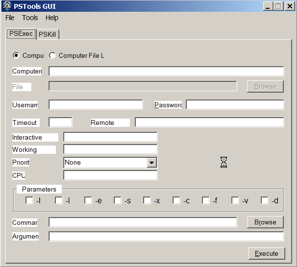 PSExec GUI - AutoIt Example Scripts - AutoIt Forums