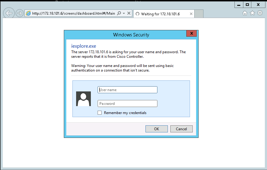 Windows Seceurity pop-up credentials insertion - Developer