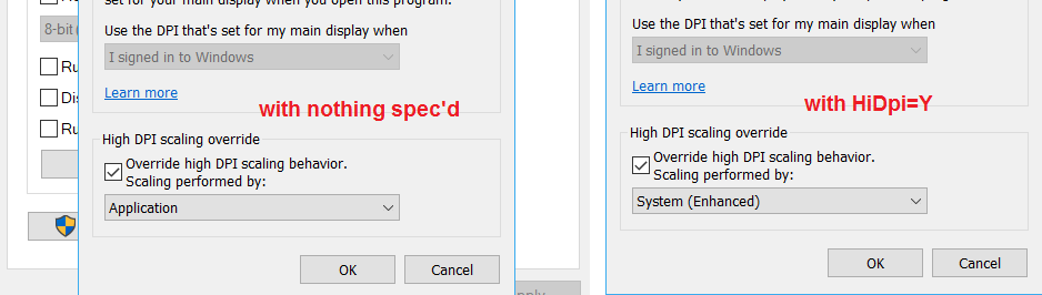 What exactly does HiDpi=Y set?     and where? - AutoIt GUI