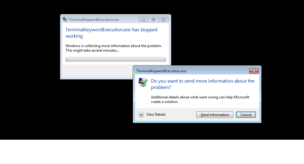 exe has stopped working error message - AutoIt General Help