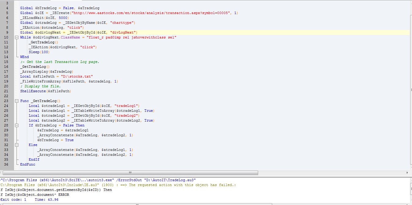 Possible to retrieve html into text file? - AutoIt General Help and