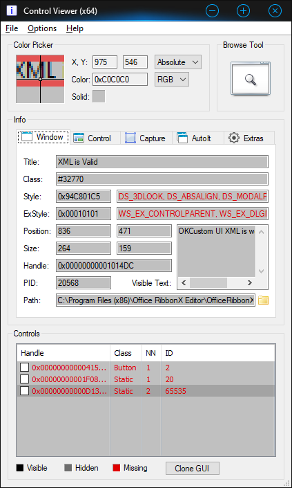 Control Viewer Settings for OfficeRibbonXEditor.png