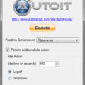 Logoff Screensaver GUI