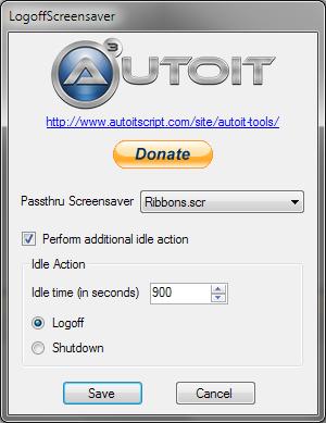 Logoff Screensaver
