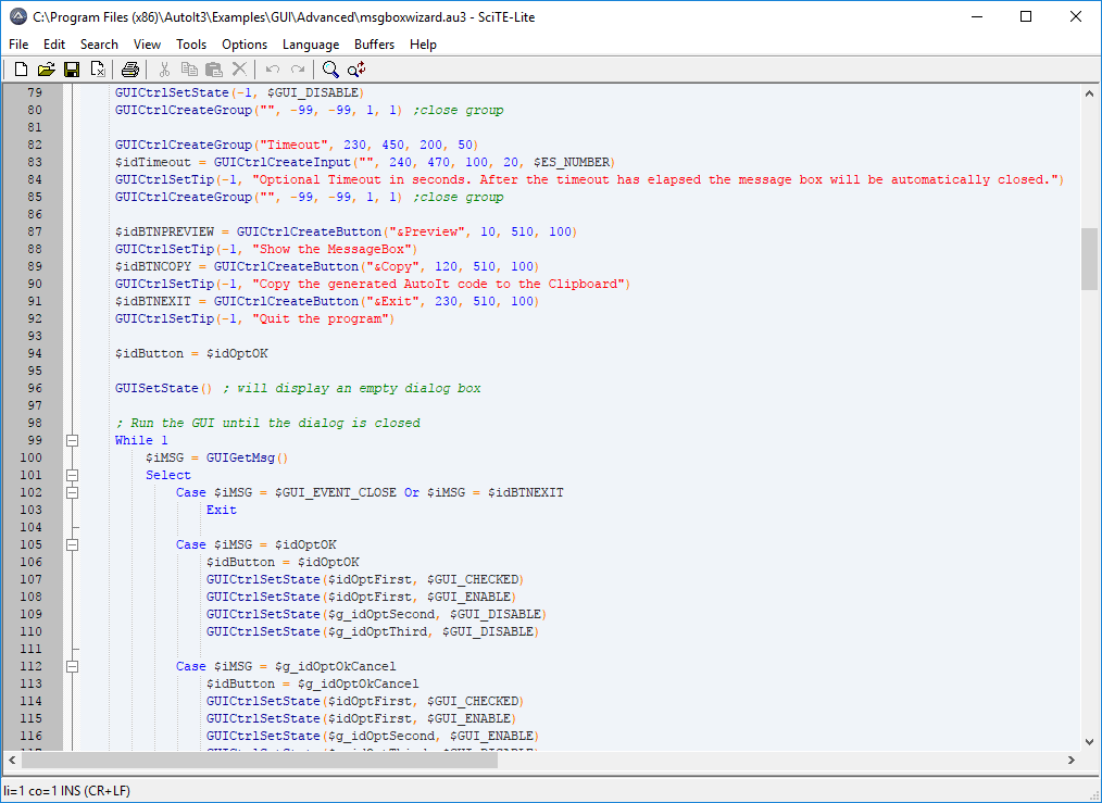 AutoIt Script Editor Downloads - AutoIt